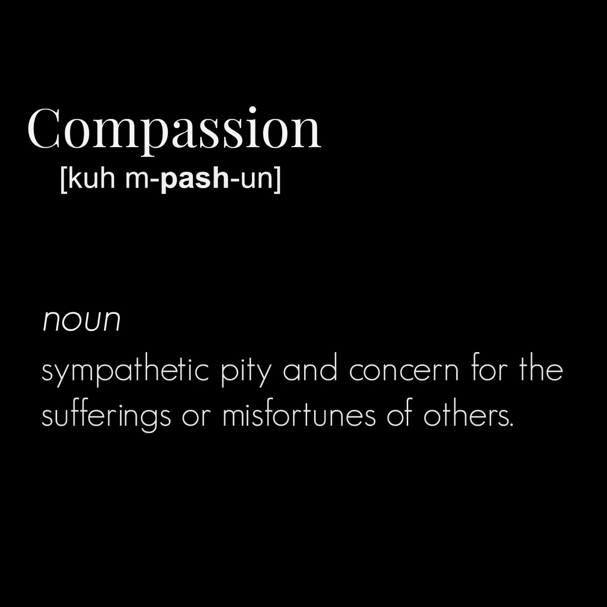 20 Ideas for Compassion - Writing Prompts