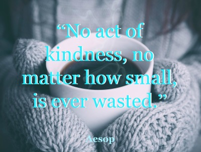act of kindness.aesop