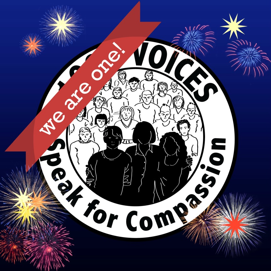 Our Year of 1000 Voices Speak For Compassion