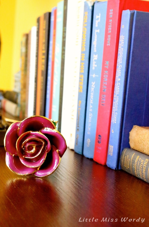 Rose and Books1